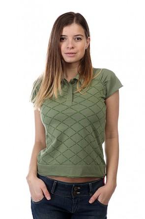 Поло женское Dickies Marla Sage Green, 1107824,  Dickies, цвет зеленый