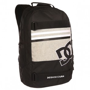 Рюкзак спортивный DC Grind Advisory Grey, 1139974,  DC Shoes, цвет серый, черный