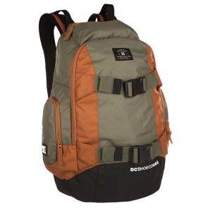 Рюкзак спортивный DC Wolfbred Ii Wheat, 1139977,  DC Shoes, цвет зеленый, коричневый, черный