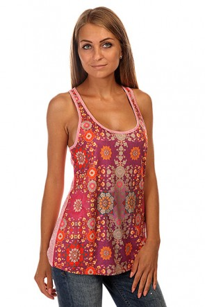 Майка женская Roxy Cutback Tank J Kttp Psychedelic Dream Co, 1139995,  Roxy, цвет мультиколор