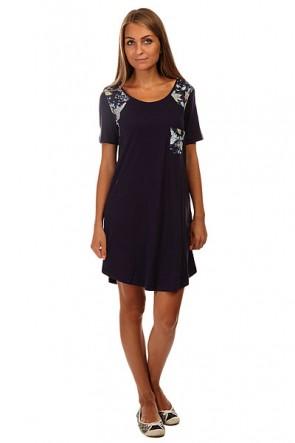Платье женское Roxy Nautical J Ktdr Eclipse, 1140006,  Roxy, цвет синий