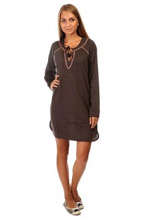 Платье женское Roxy Beach J Wvdr Dark Midnight, 1140033,  Roxy, цвет серый