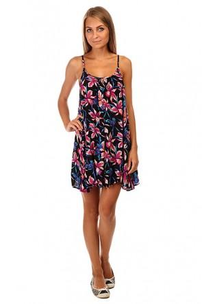 Платье женское Roxy Windy Fly Away J Cvup True Black Maui Ligh, 1140036,  Roxy, цвет мультиколор, черный