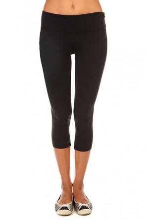 Леггинсы женские Roxy Breathless Capr J Pant True Black, 1140069,  Roxy, цвет черный