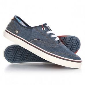 Кеды кроссовки низкие Wrangler Legend Denim, 1143391,  Wrangler, цвет синий