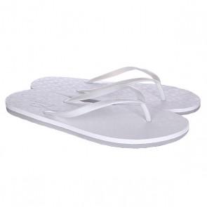 Шлепанцы женские Roxy Baracoa J White, 1120230,  Roxy, цвет белый