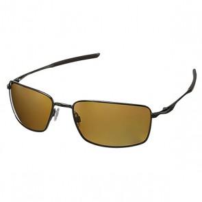 Очки Oakley Square Wire Tungsten Iridium Polarized, 1155281,  Oakley, цвет коричневый