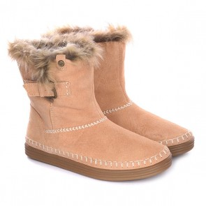 Угги женские Roxy Ashley J Boot Tan, 1125769,  Roxy, цвет бежевый