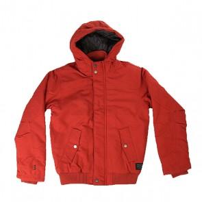 Куртка зимняя детская Quiksilver Brooksdwryouth Barn Red, 1158753,  Quiksilver, цвет коричневый