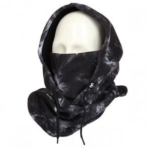 Балаклава женская DC Hoodaclava Tie Dye, 1158872,  DC Shoes, цвет белый, черный
