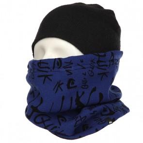 Шарф труба Quiksilver Hieline Collar Black, 1158874,  Quiksilver, цвет синий, черный