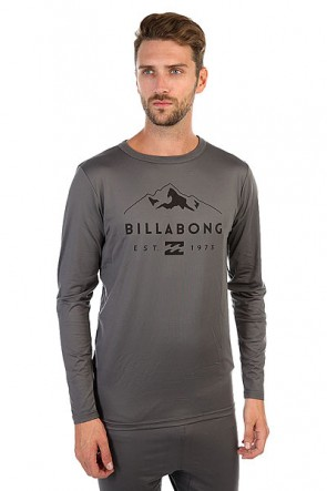 Термобелье (верх) Billabong First Layer Tech Top Anthracite, 1158934,  Billabong, цвет серый