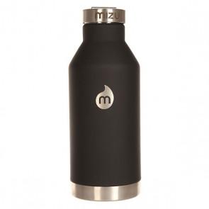 Бутылка для воды Mizu V6 St Black Le W Sst Cap, 1158966,  Mizu, цвет черный