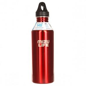 Бутылка для воды Mizu M8 Mizu Life Red Steel Le, 1158973,  Mizu, цвет бордовый