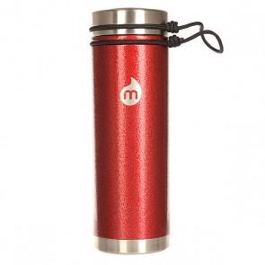 Бутылка для воды Mizu V7 Red Hammer Paint V Lid, 1158974,  Mizu, цвет бордовый