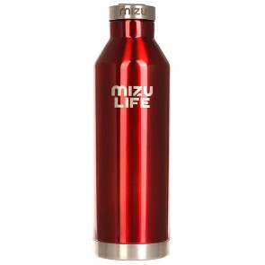 Бутылка для воды Mizu V8 Red Steel Le, 1158976,  Mizu, цвет бордовый