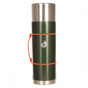 Бутылка для воды Mizu V10 Army Green Hammer Paint Le Drip, 1158978,  Mizu, цвет зеленый