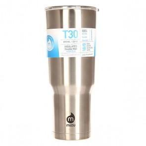 Термокружка Mizu Tumbler 30 Stainless Black Drip, 1158980,  Mizu, цвет серый
