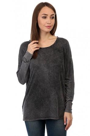Лонгслив женский Billabong Essential Black, 1158997,  Billabong, цвет серый