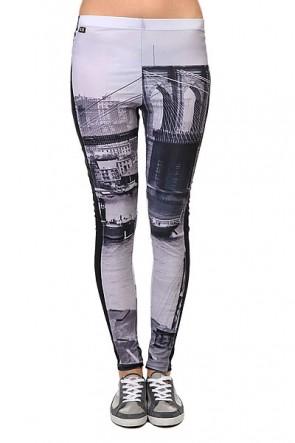 Леггинсы женские K1X Allover Diamond Leggings Brooklyn, 1102248,  K1X, цвет серый