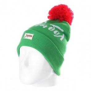 Шапка с помпоном Запорожец Football Beanies Light Green, 1102321,  Запорожец, цвет зеленый