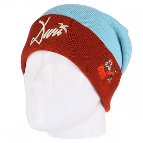 Шапка Запорожец Wildfowl Beanies Blue/Brown, 1102323,  Запорожец, цвет голубой, коричневый