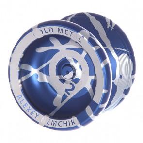 Йо-йо Aero-Yo CO2 Blue/White, 1135558,  Aero-Yo, цвет белый, синий