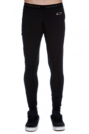 Термобелье (низ) Oakley Great Ascent Baselayer Pants Jet Black, 1056377,  Oakley, цвет черный