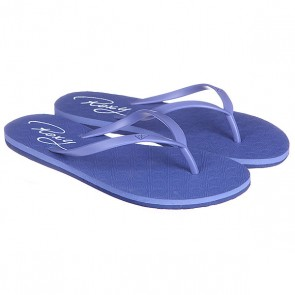 Шлепанцы женские Roxy Baracoa J Indigo Used, 1113430,  Roxy, цвет синий