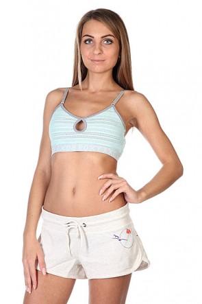 Бюстгальтер женский Roxy Spin Bra J Moon Light Jade, 1113612,  Roxy, цвет голубой, серый