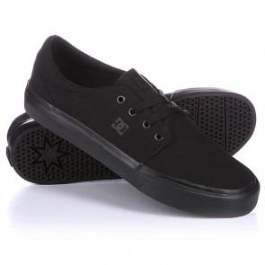 Кеды кроссовки DC Trase Tx Black, 1118472,  DC Shoes, цвет черный