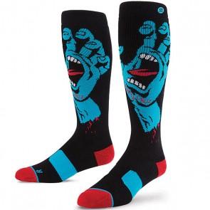 Носки средние детские Stance Snow Screaming Hand Kids Black, 1153136,  Stance, цвет красный, синий, черный
