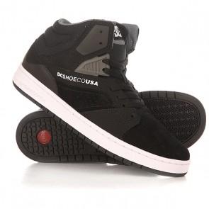 Кеды кроссовки высокие DC Seneca High Black, 1155365,  DC Shoes, цвет черный