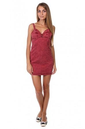Платье женское Insight Innocence Is Dead Westwood Burgundy, 1125959,  Insight, цвет бордовый