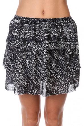 Юбка женская Insight Lost Union Skirt Floyd Black, 1125994,  Insight, цвет белый, черный