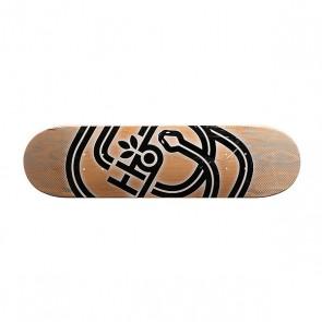 Дека для скейтборда для скейтборда Habitat Serpent Pp Beige/Black/Grey 31.75 x 8.25 (21 см), 1159073,  Habitat, цвет бежевый, черный