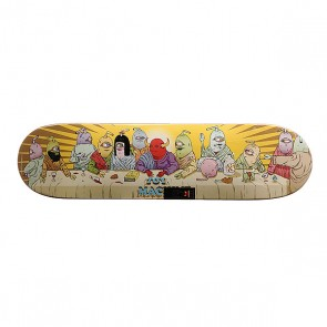 Дека для скейтборда для скейтборда Toy Machine Last Supper Multi 31.5 x 8.0 (20.3 см), 1159074,  Toy Machine, цвет мультиколор