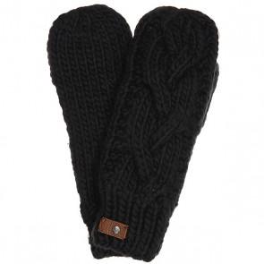 Варежки женские Roxy Winter True Black, 1159104,  Roxy, цвет серый