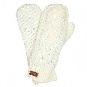 Варежки женские Roxy Winter Bright White, 1159105,  Roxy, цвет белый