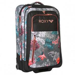 Сумка дорожная женская Roxy Long Haul Tr Hawaiian Tropik Para, 1159154,  Roxy, цвет мультиколор, серый