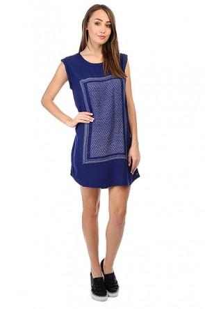 Платье женское Roxy Sun Blue Print, 1159157,  Roxy, цвет синий