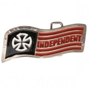 Пряжка Independent Quality Crafted Buckle, 1017229,  Independent, цвет красный, черный