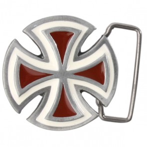 Пряжка Independent Solo Red, 9251,  Independent, цвет красный, серый