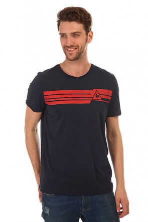 Футболка Le Coq Sportif Boucry Tee Dress Blues, 1148427,  Le Coq Sportif, цвет синий