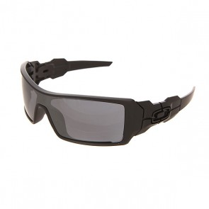 Очки Oakley Oil Rig Matte Black W/Black Iridium, 1153175,  Oakley, цвет черный