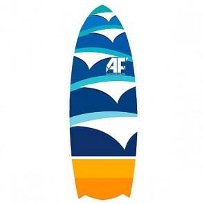 Вейксерфборд A-Frame New Swell 4'10 Fcs Ii Multi, 1153181,  A-Frame, цвет белый, синий