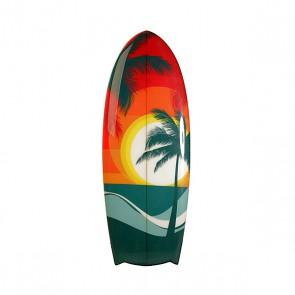 Вейксерфборд A-Frame Sunset 4'5 Fcs Beach Multi, 1153185,  A-Frame, цвет мультиколор