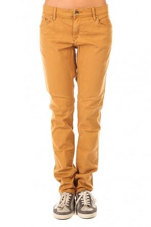 Штаны узкие женские Roxy Suntrippers J Pant Bone Brown, 1155414,  Roxy, цвет коричневый
