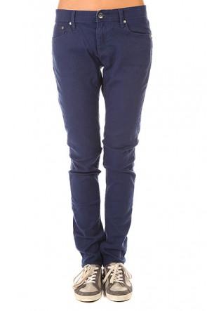 Штаны узкие женские Roxy Suntrippers J Pant Blue Print, 1155415,  Roxy, цвет синий