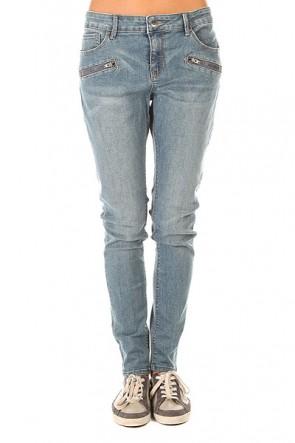 Штаны узкие женские Roxy For Cassidy Vin J Pant Vintage Blue, 1155418,  Roxy, цвет голубой